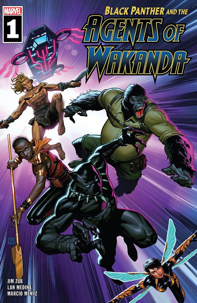 My sleeper pick for this week is @JimZub and his Agents of Wakanda #1 Avengers are overcrowded and some cool characters werent seeing enough page time but this book remedies that. If you enjoy the usual and obscure then this is the book for you. Lan Medinas art makes this book.