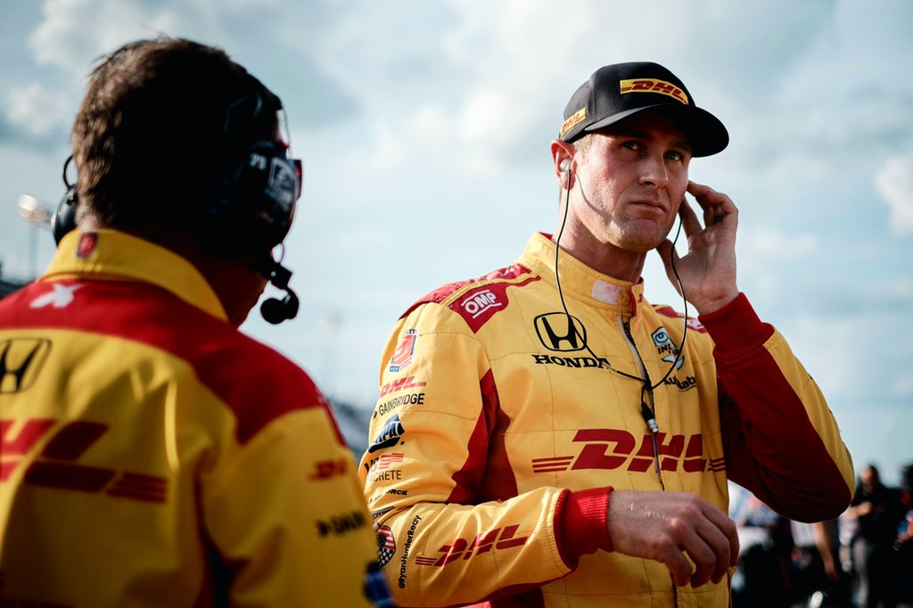 DID YOU KNOW - @RyanHunterReay is one of only four drivers in the #FirestoneGP field this weekend that has raced an #IndyCar at @WeatherTechRcwy. #themoreyouknow