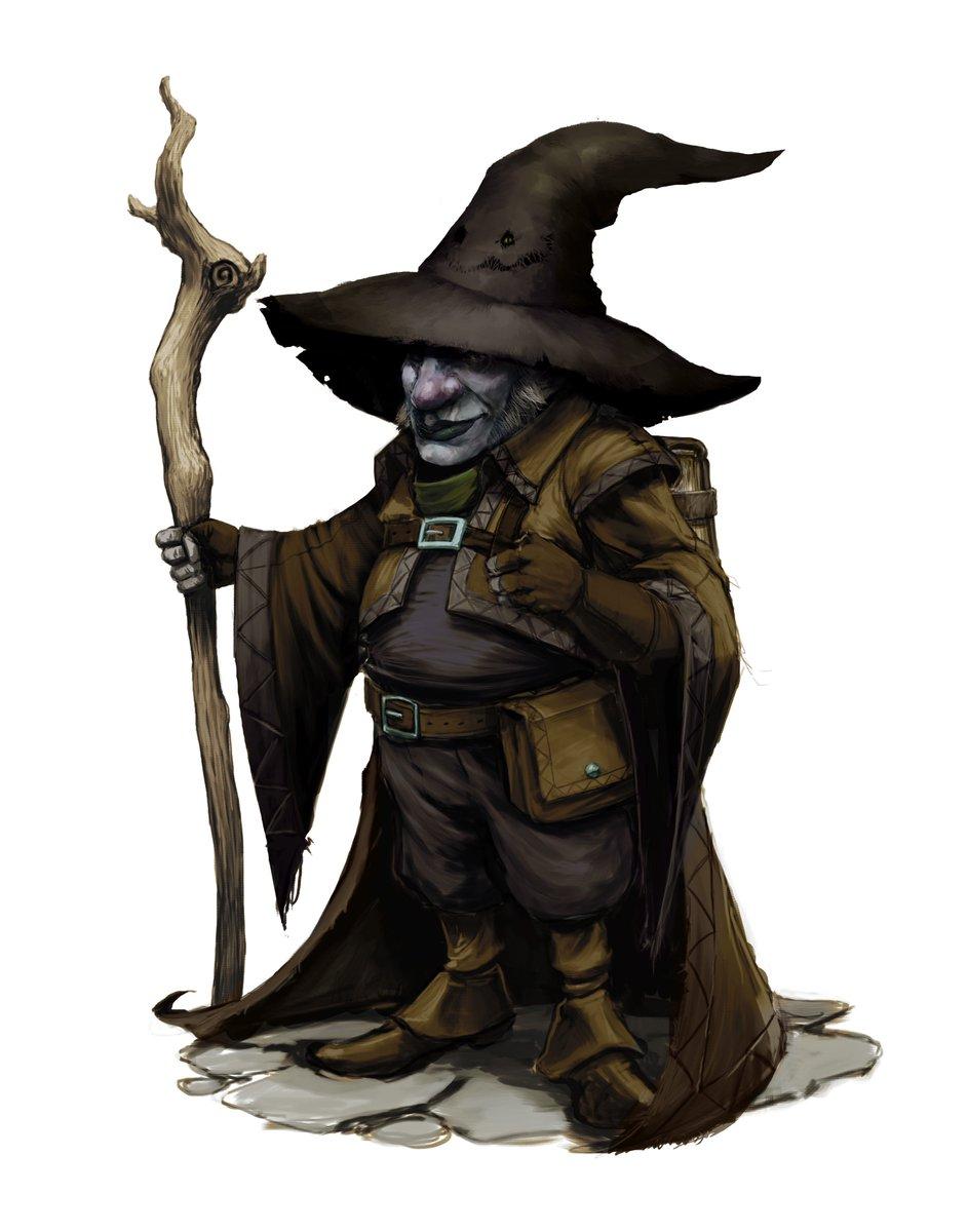 Deep Gnome Fantasy Art