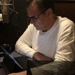 """#TBT to recording the """"Mansfield's Book of Manly Men"""" audiobook! We had a ton of guys asking for this for YEARS! So if you don't have it, and ya need it, what are you waiting for?? Get it on Amazon: https://t.co/h1aa92lWaV"""