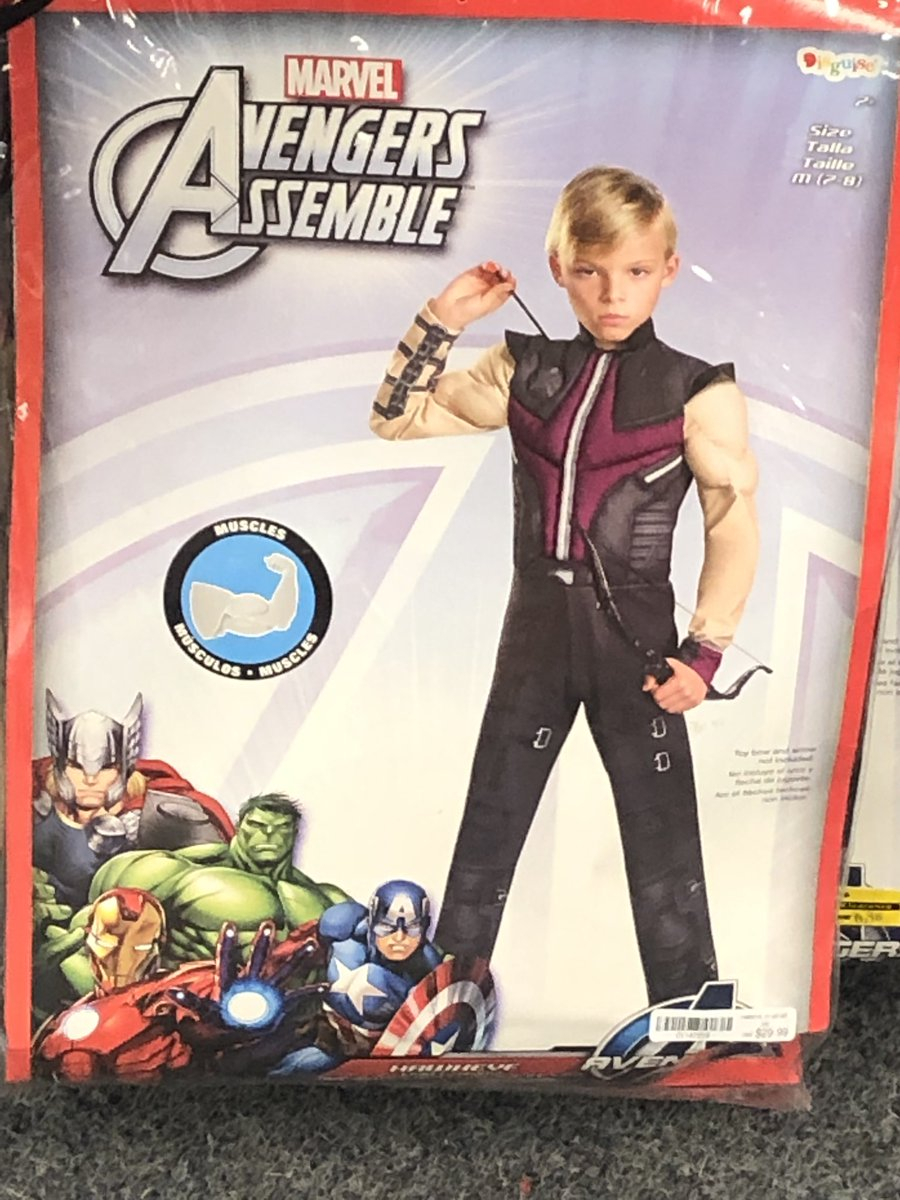 """Daddy! I want to be Hawkeye for Halloween!"" - No child, anywhere, ever"