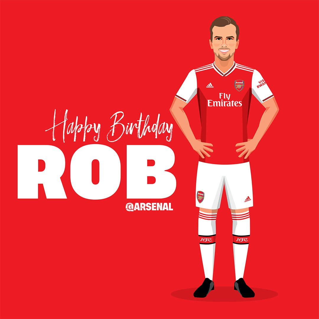 🎶 Rob Holding, you knowww... 🎶 🥳 Happy birthday, @RobHolding95! 🎈