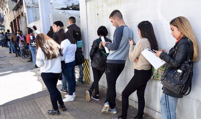 #DatosdelIndec  | La desocupación subió al 10,6% en el segundo trimestre