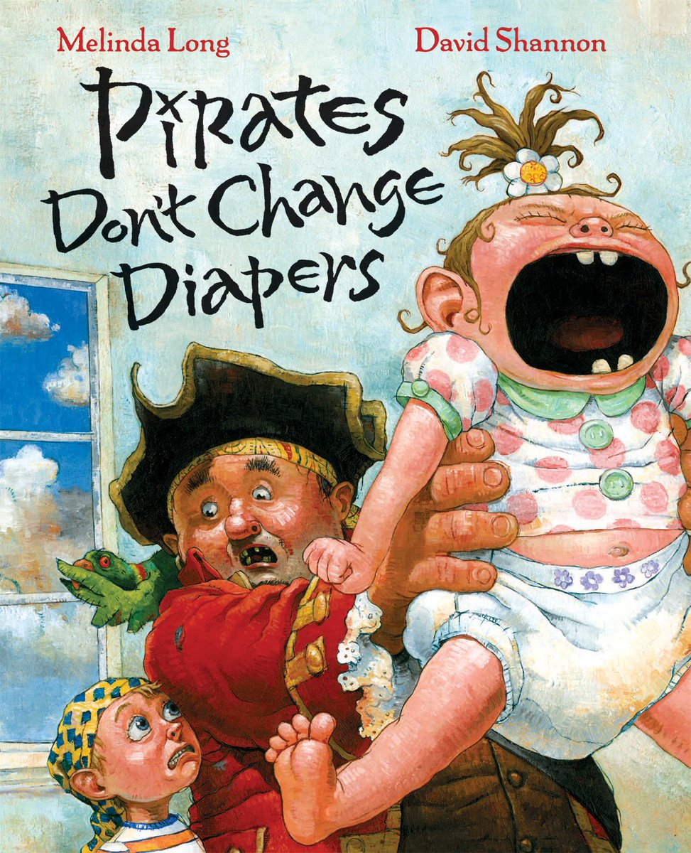 Ahoy! In celebration of #TalkLikeaPirateDay, pick up PIRATES DONT CHANGE DIAPERS for just 2.99 on Amazon @MelindaLong14 ow.ly/dz5m50wdB5c