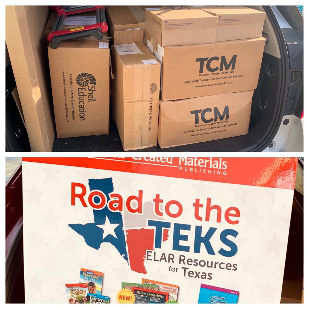 Ready for a great day of learning with @tcmpub @MsCarltonsclass @Amber_TCM in @ZapataCoISD, plus our friends from @unitedisd #RoadtotheTEKS #ELAR #literacy #mytcm #letsdothis<br>http://pic.twitter.com/itShqWPQrL