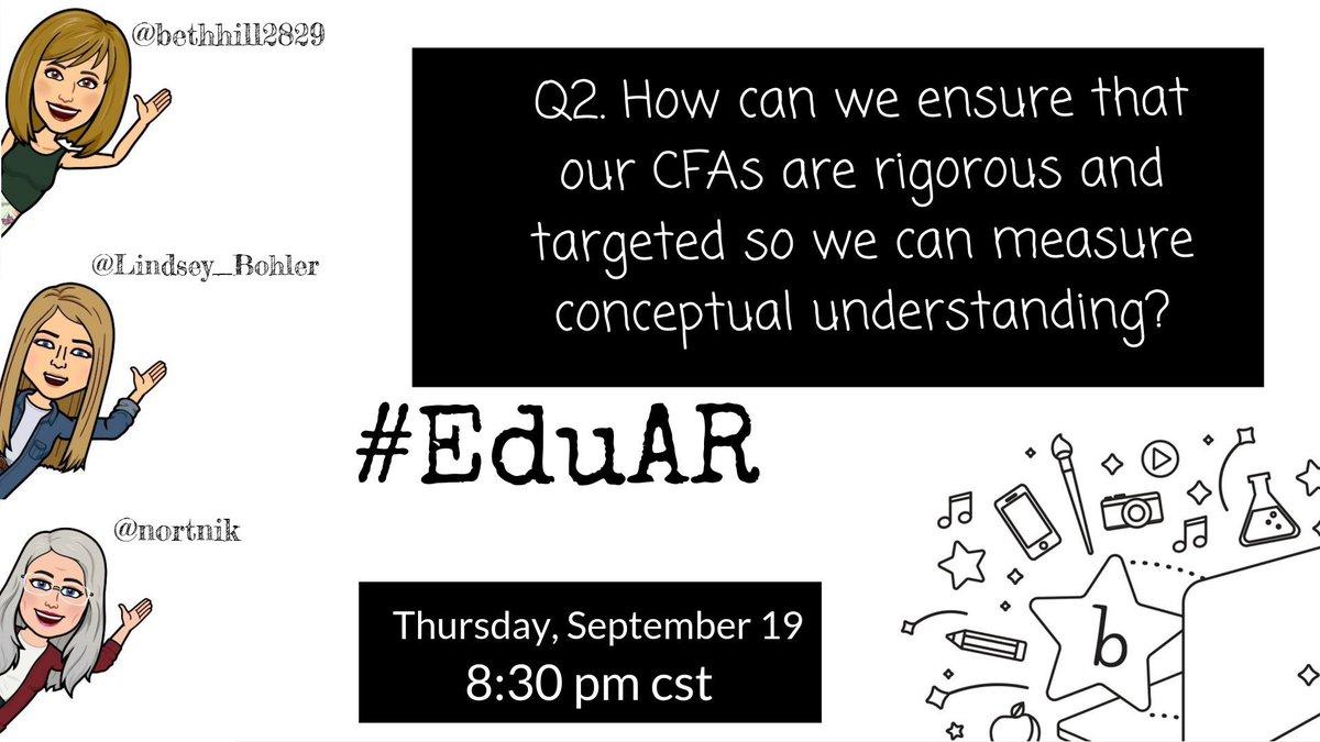 Q2 is up now! @nortnik @Lindsey_Bohler #EduAR
