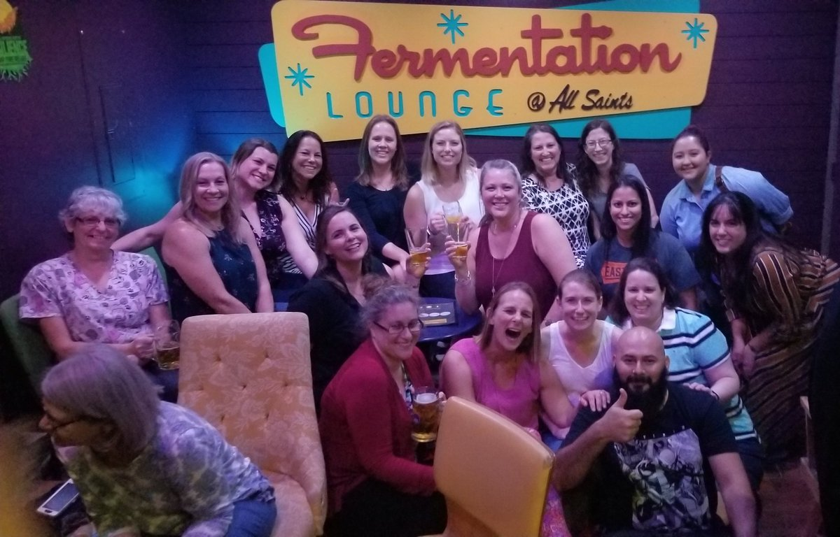 Gettin' our drank on @FermentLounge #TLHLadiesThatBeer