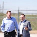 Imagen para el comienzo del Tweet: Toured Husky-BP Refinery en Toledo,