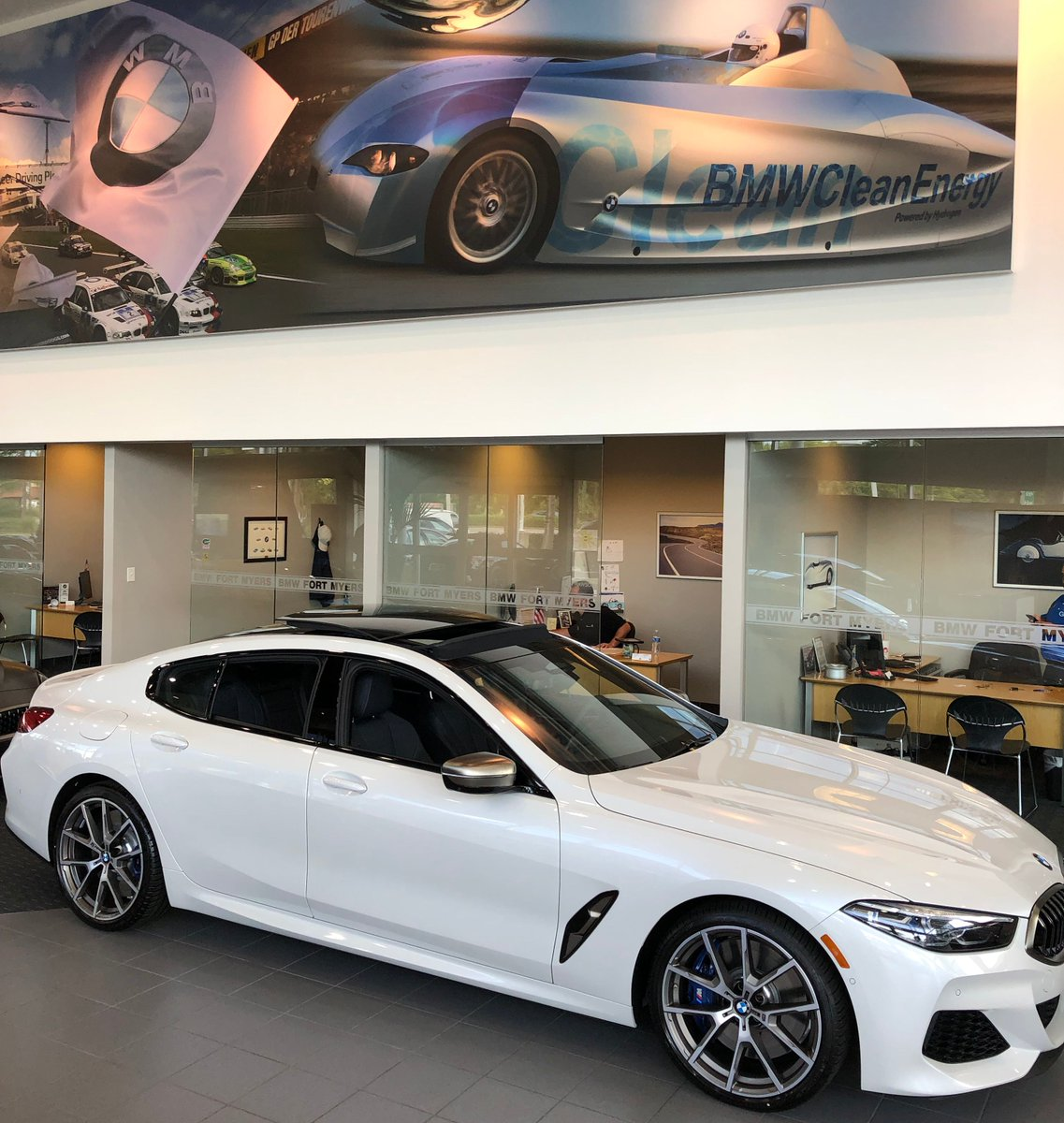 Bmw Of Fort Myers On Twitter Handsome Spacious And More Powerful Than You Think The 2020 Bmw M850 Gran Coupe Is Now Available At Bmw Of Fort Myers Schedule Your Test Drive