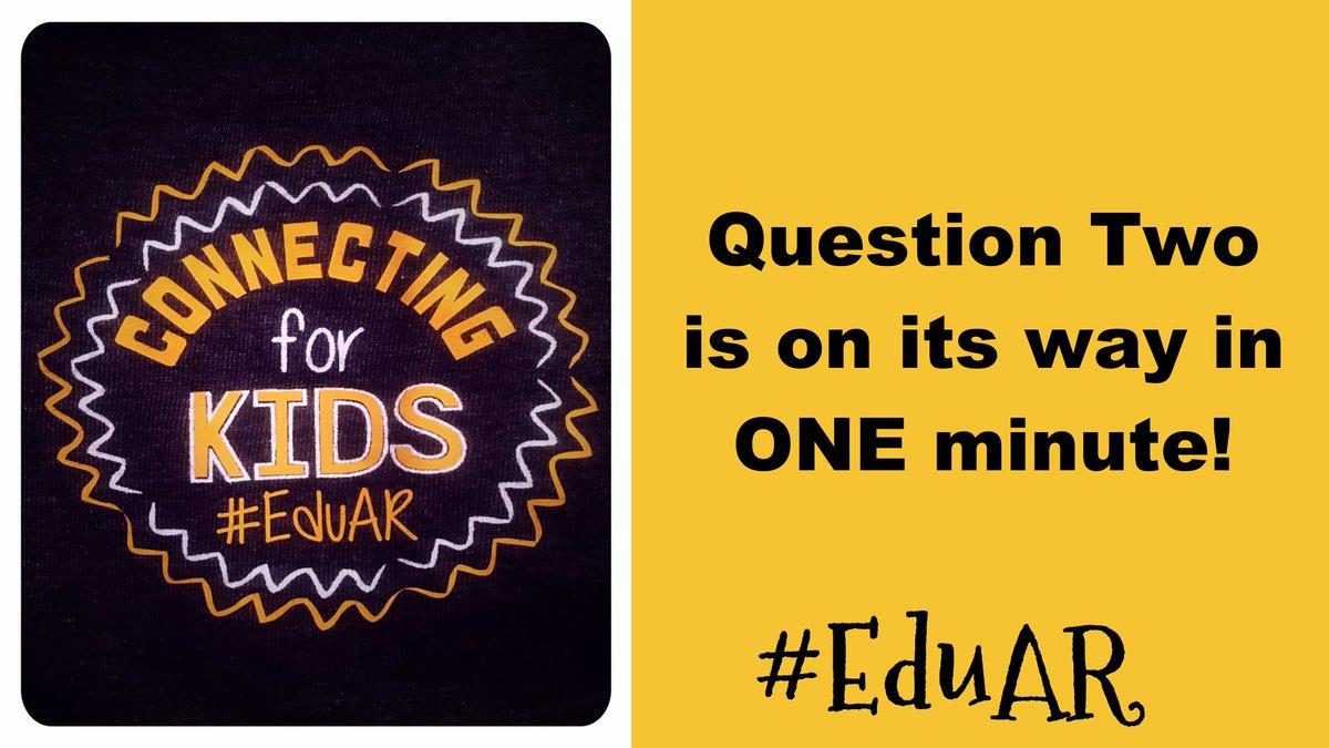 Q2 is on deck! @Lindsey_Bohler #EduAR