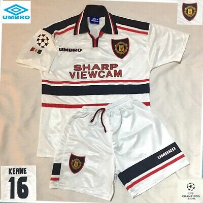 Manchester United Football Shirt Mint ( M ) Roy Keane Genuine Jersey dlvr.it/RDTMmC