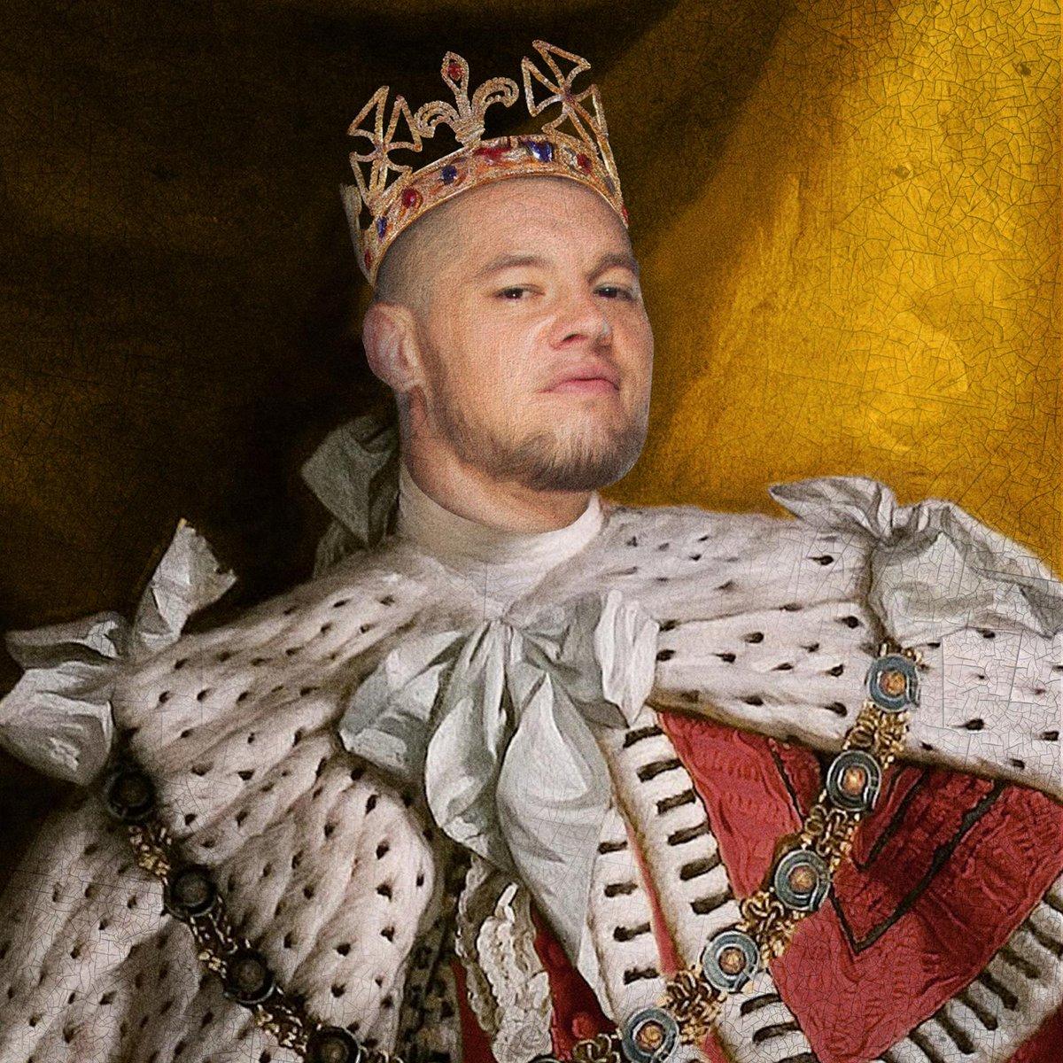 All hail KING @BaronCorbinWWE! #KingOfTheRing 👑