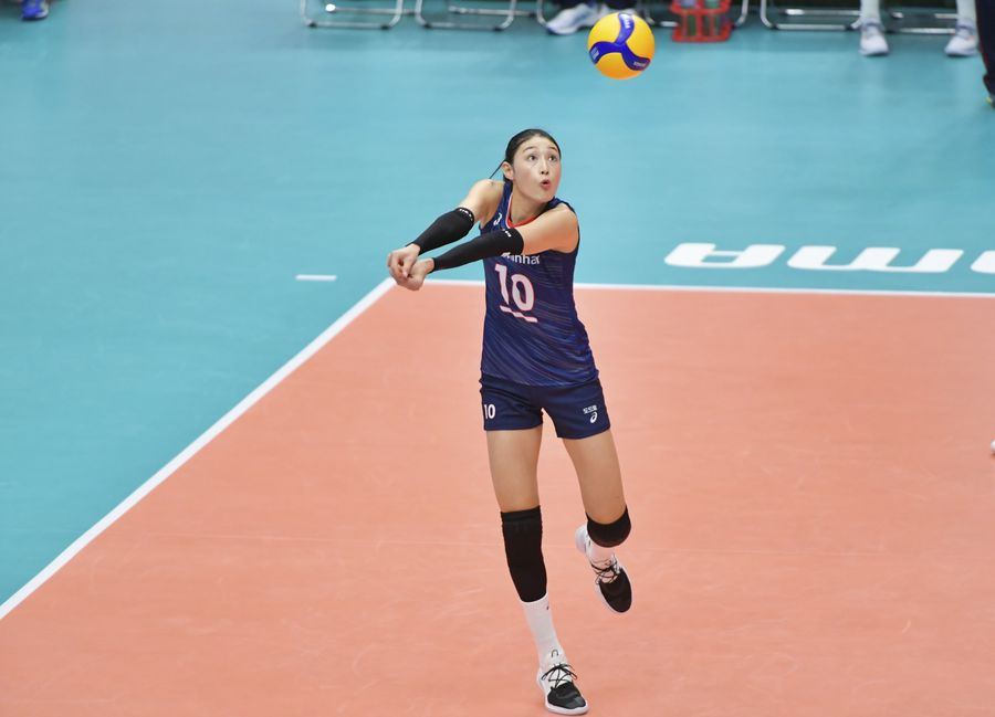 South Korea captain Kim Yeon-koung is aiming at an Olympic medal and hopes to become next Lang Ping http://xhne.ws/o20Xd  @FIVBVolleyball