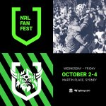 Image for the Tweet beginning: NRL Fanfest is coming! Be