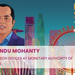 Image for the Tweet beginning: Sopnendu Mohanty @sopnendu, Chief FinTech