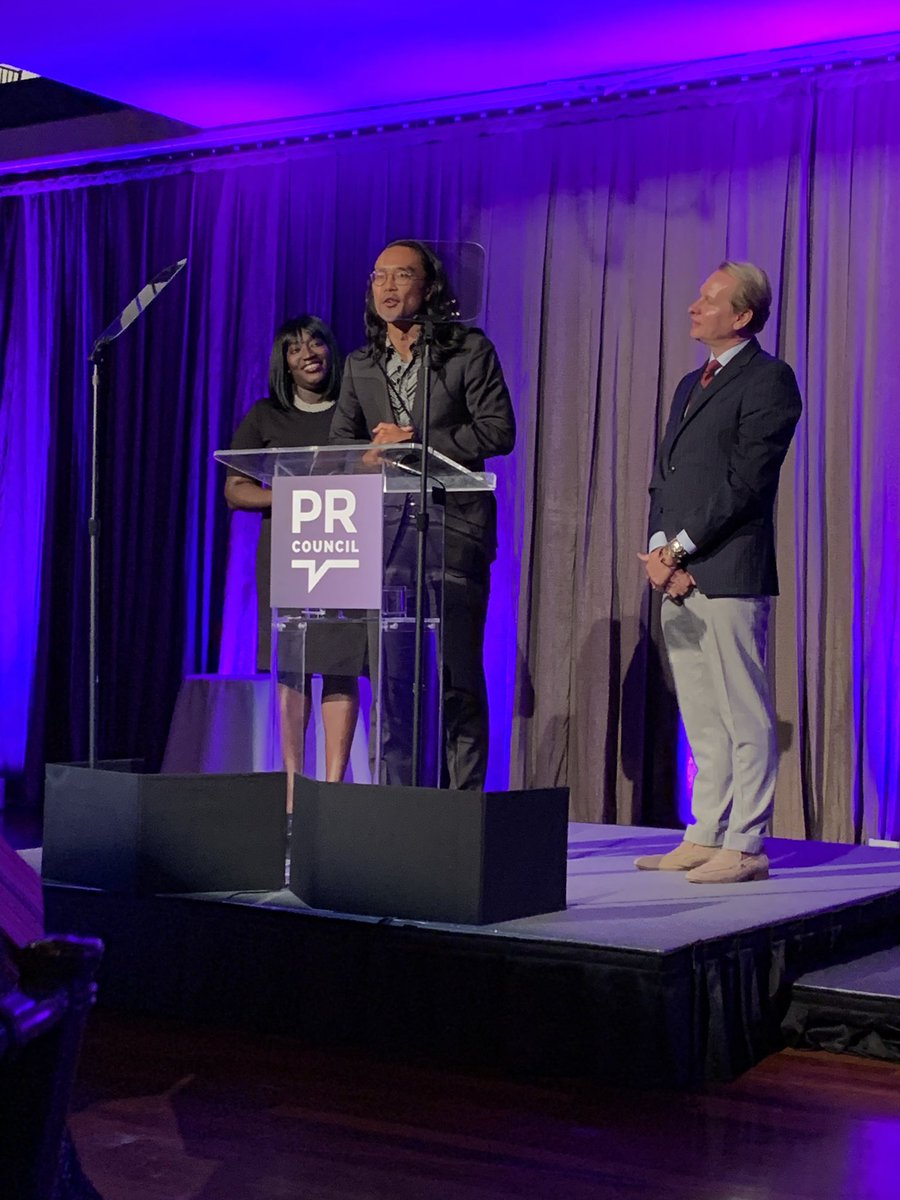 Congrats to our own @aaronkomo on being named the Outstanding Young PR Professional at tonight's Diversity Distinction in PR Awards by @PRCouncil and @PRWeek. We applaud his dedication to growing our internal DE&I initiatives and those of multiple organizations in the community.