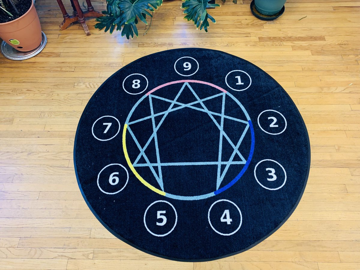 my #Enneagram floor mat arrived! ..so excited to drop in to some experiential practice https://t.co/U7QzwtL80V