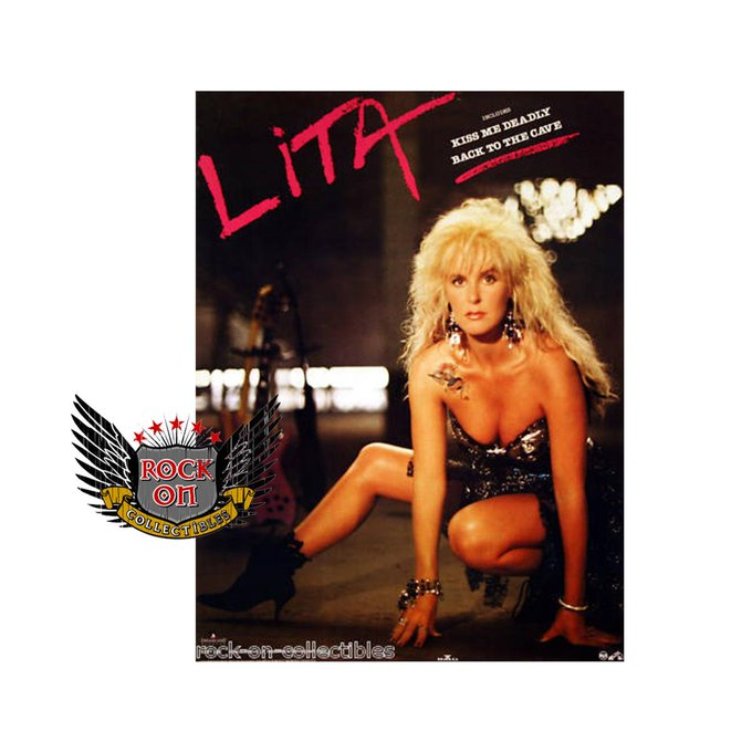 Happy Birthday Lita Ford! We hope you have a rockin\ day!