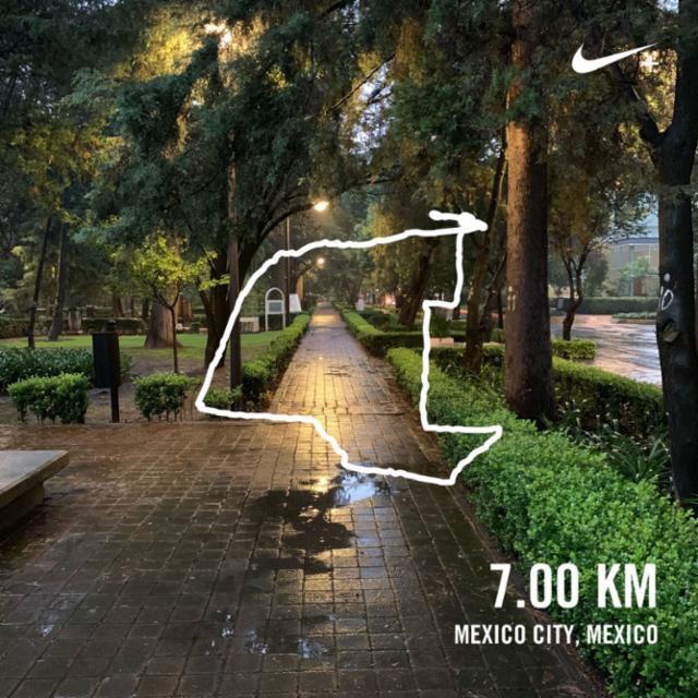 Ran 7.00 kilometers with Nike Run Club #JustDoIt #runhappy #RunOscarRun #CDMX #instarun #runninglovers #run #instarunners #Mexico #MexicoCity #7km #instaCDMX @instacdmx #EXATECrun #clubEXATECrunning #morningrun #brooksrunning #rainningrun #rain<br>http://pic.twitter.com/DNgnzRuSmF