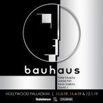 Image for the Tweet beginning: BAUHAUS ADD THIRD PALLADIUM SHOW  Bauhaus