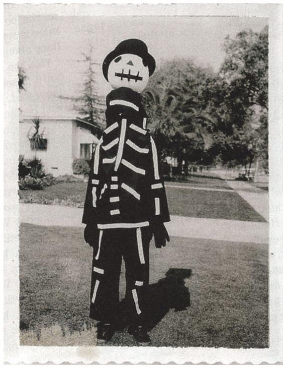 Here is a photo of Tim Burton from 1967 wearing a homemade Halloween costume, that was to be the inspiration for Jack Skellington.  <br>http://pic.twitter.com/JMXOmvltEp