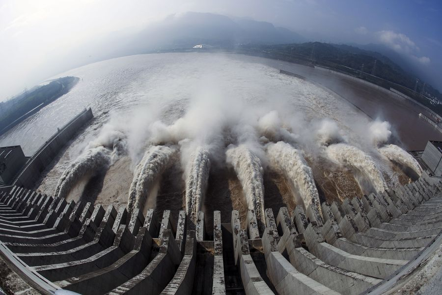 China's Three Gorges is the largest hydropower project in the world. It's hard not to be impressed by man's ability to harness the power of nature   http://xhne.ws/ViHBe
