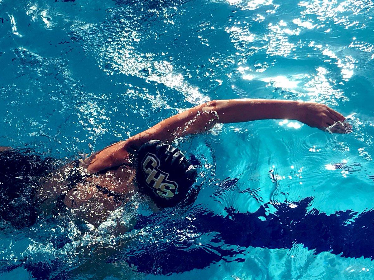 CHS swimmers improving their times tonight #onehurricane #chsswim <br>http://pic.twitter.com/GxSiiAdr9W