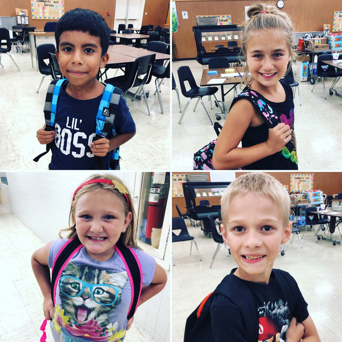 Not only did our 3rd-6th grade students who attended Bingo for Books get a TON of books to take home, they each got a NEW backpack! A perfect way to get all those books home  #readeveryday #bingoforbooks #IAMWashington<br>http://pic.twitter.com/RxSsptWmFC