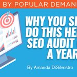 #SEO audits of your website are tedious and time consuming, but @ADiSilvestro says they're necessary for success. Here's how to do one annually? https://t.co/DmIUFGeS9R