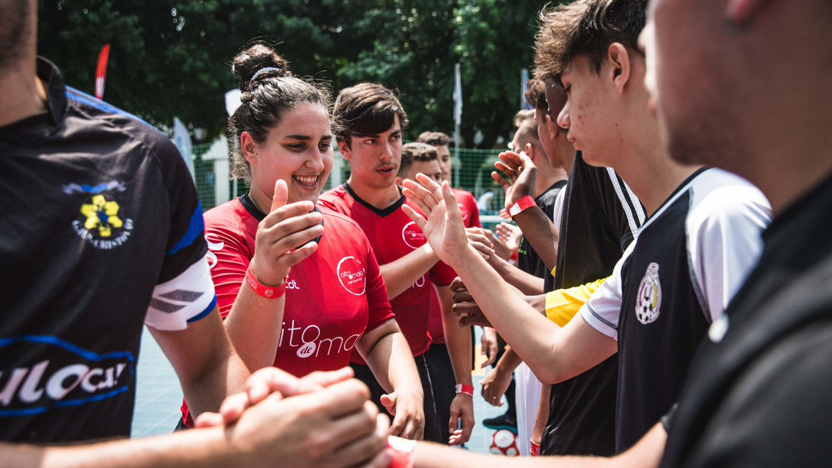 """""""The Street Football Programme can be a way to achieve good, because when we play football, we forget about problems."""" Portugal's @associacaocais committed to aiding those suffering from extreme poverty and social exclusion 🇵🇹👉https://fifa.to/e/tvxovww67Z"""