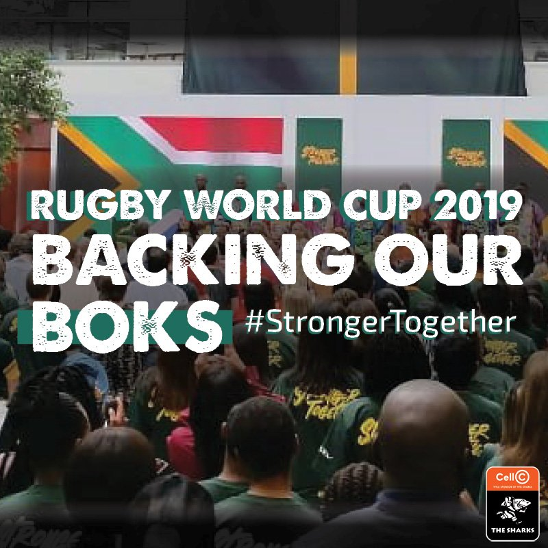 The Rugby World Cup 2019 kicks off today! Don't miss the opening ceremony at 11H30 CAT. Here are all the @Springboks pool stage fixtures 🇿🇦 #StrongerTogether