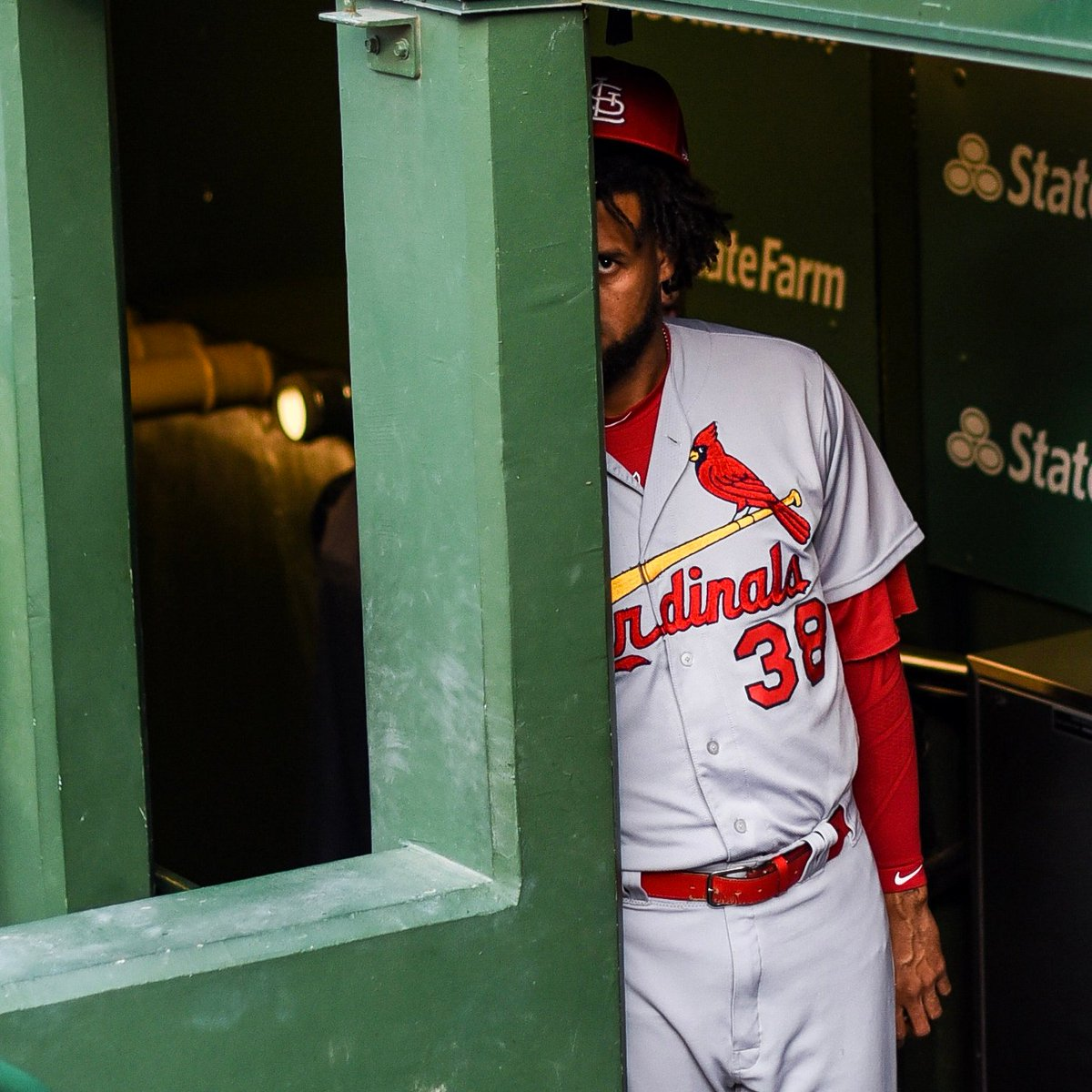 We've given you all the baseball we're legally allowed to give you today.Before we depart, here's José Martínez keeping an eye on you.Goodbye and goodnight.