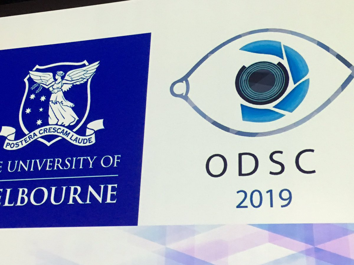 "A huge thank you to the organising committee for putting together a fantastic 2019 Optometry student conference. Thank you to all guest speakers and sponsors. It was ""eye opening"". @unimelb @UniMelbMDHS @OptometryAus #healthsciences"
