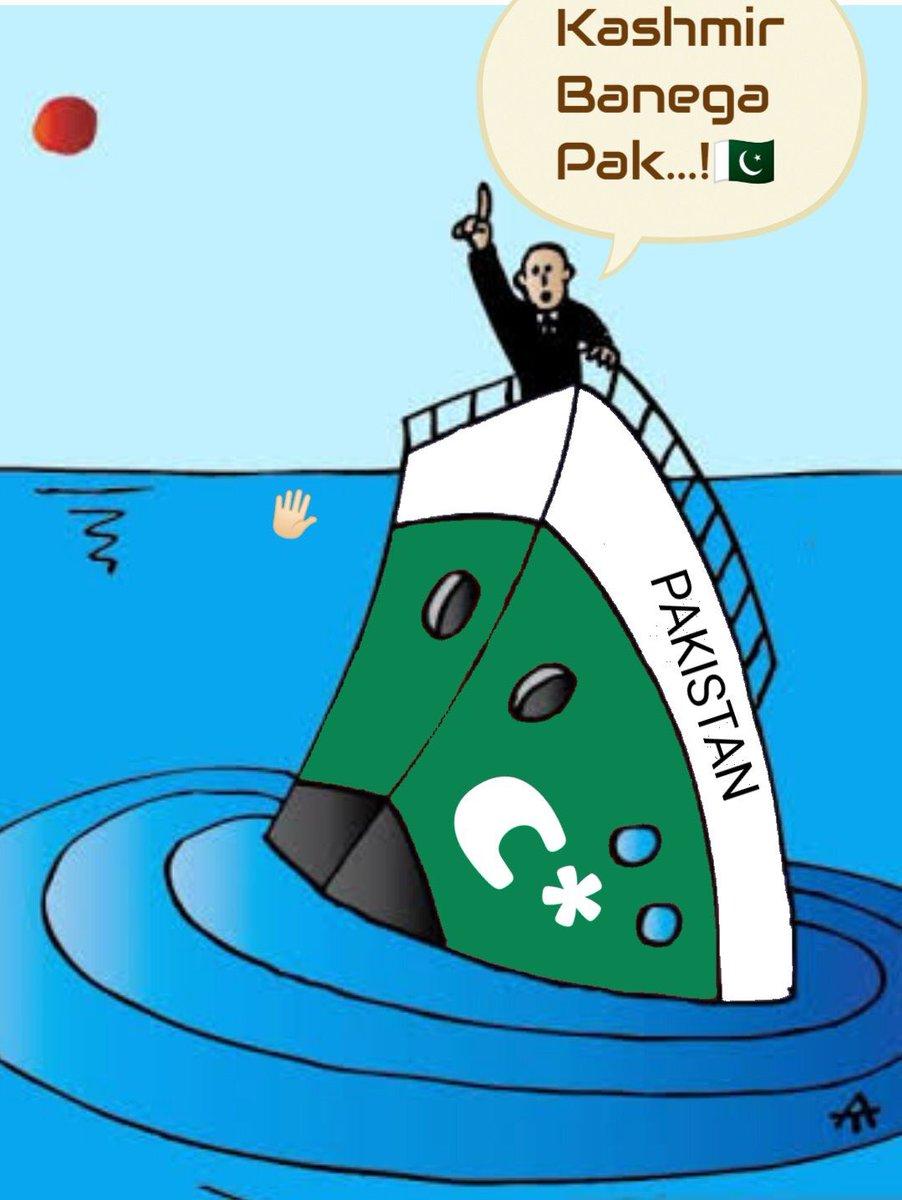 Balochistan about to go..PoK & Gilgit Baltistan are also occupied by Pak Foj.. for how long.Pashtoon belt also ready to fly..Sindh, already not happy with Paki occupying Foj..Apna mulk doob raha hai aur inko Kashmir ki parri hai..