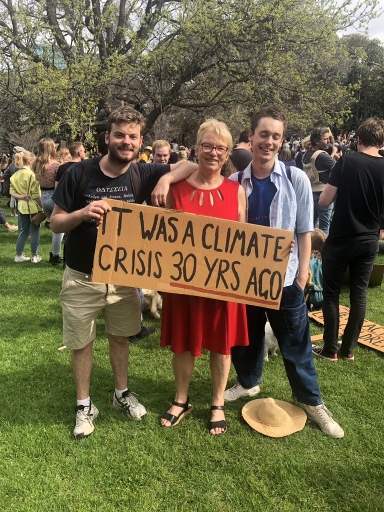For Penny #climatestrike #climatestrikemelbourne @Punderful @Leonrw
