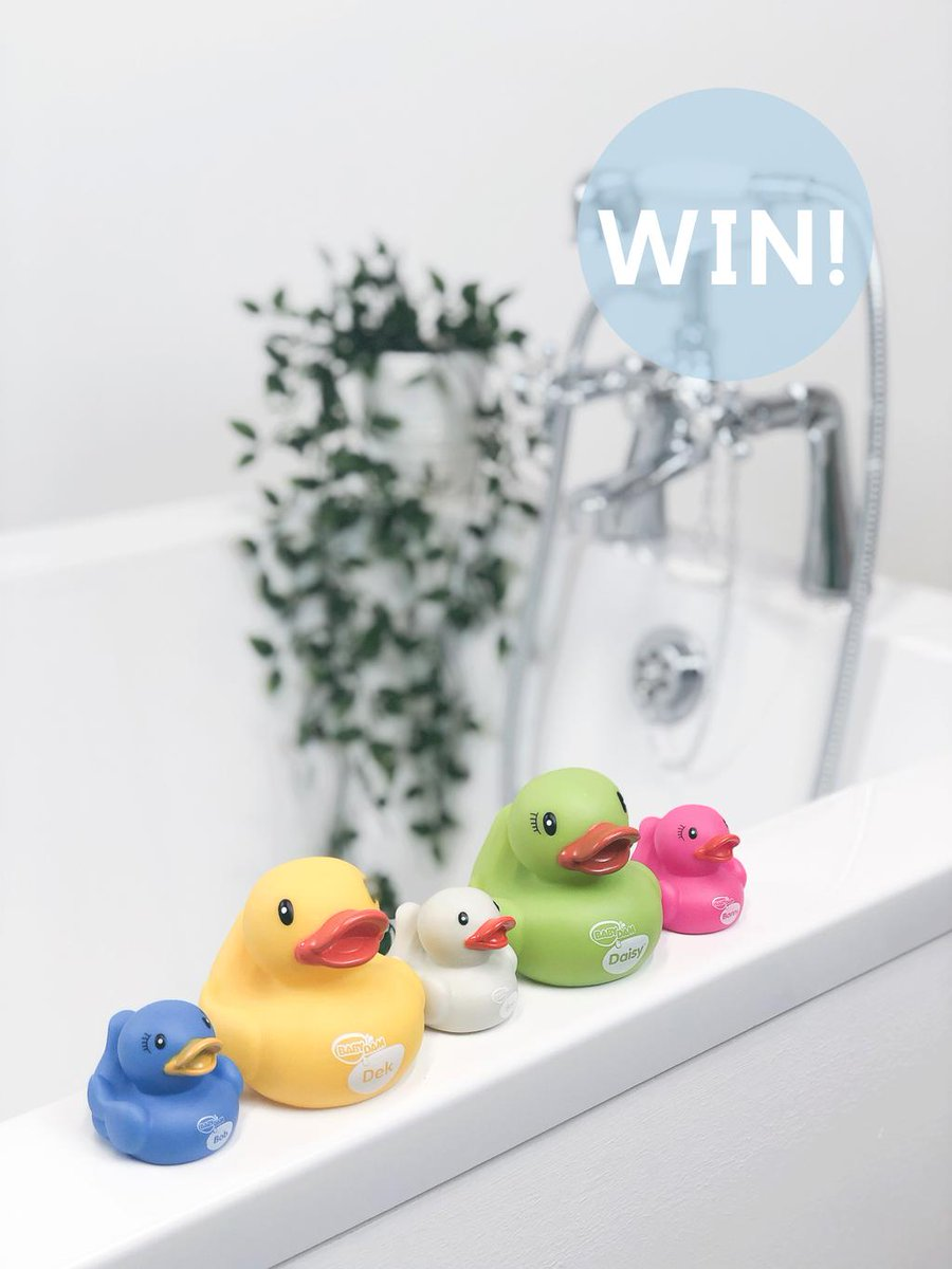 It's #FreebieFriday  FOLLOW & RT to #WIN a pack of the BabyDam family of ducks, the perfect bath time companions, good luckUK only. Closes 22/09/19 23:59pm GMT.<br>http://pic.twitter.com/pdROqpOaM6