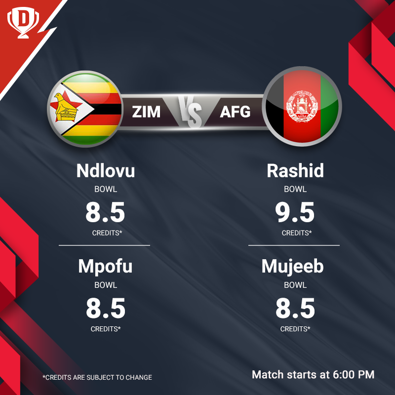 Can Zimbabwe break Afghanistan's winning streak in this Tri-Series tonight? Click here to create your #Dream11 for #AFGvZIM - http://d11.co.in/TriSeries