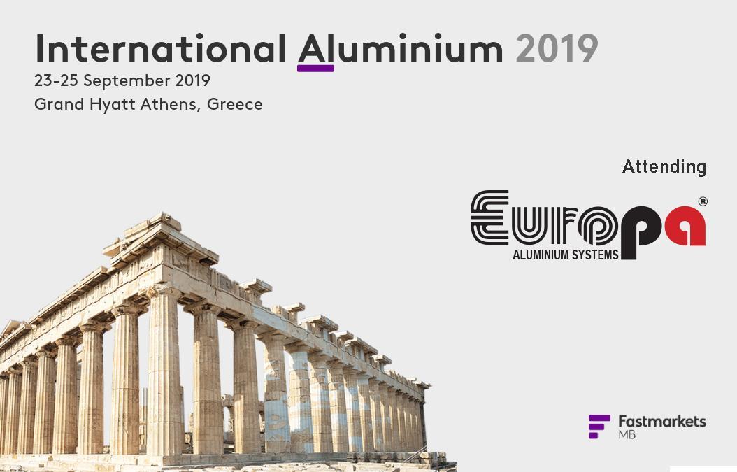 Η #teamEuropa @EuropaProfil συμμετέχει @ International #Aluminium 2019 @ 23-25/09/19 @ #GrandHyattAthens🎓Το #AL19 by @Fastmarkets με επίσημο υποστηρικτή την @GreekAluminium αποτελεί την κορυφαία διοργάνωση αλουμινίου💪#EuropaProfil #TheGreekAluminium #FMaluminum @FastmarketsMB https://t.co/gf8brffqWr