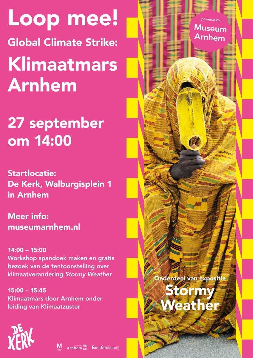 Klimaatmars Arnhem 27 september Arnhem
