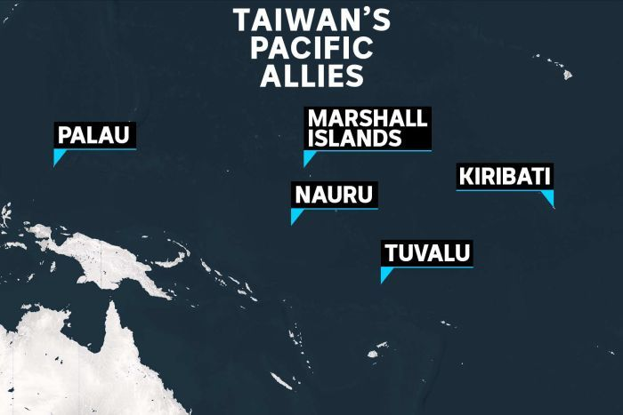 You only need to look at this pic for a clue as to why China might want to have Kiribati onside (thats Hawaii to the north) abc.net.au/news/2019-09-2…