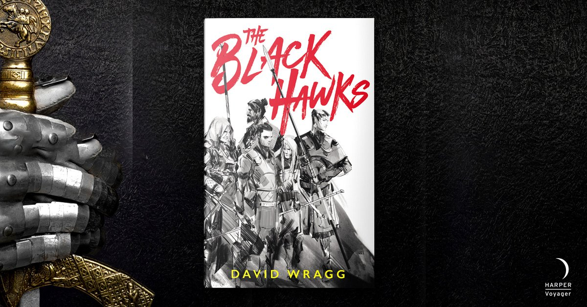 Mercenaries without fear... Without mercy... Without basic levels of hygiene... ⚔️ PREPARE TO JOIN #TheBlackHawks THIS OCTOBER ⚔️ smarturl.it/TheBlackHawksP… @itsdavewragg
