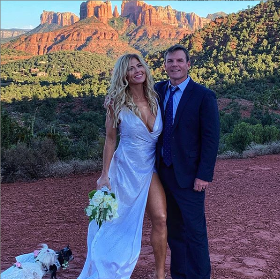 Congratulations to @Torrie11 who tied the knot yesterday! 💍💕