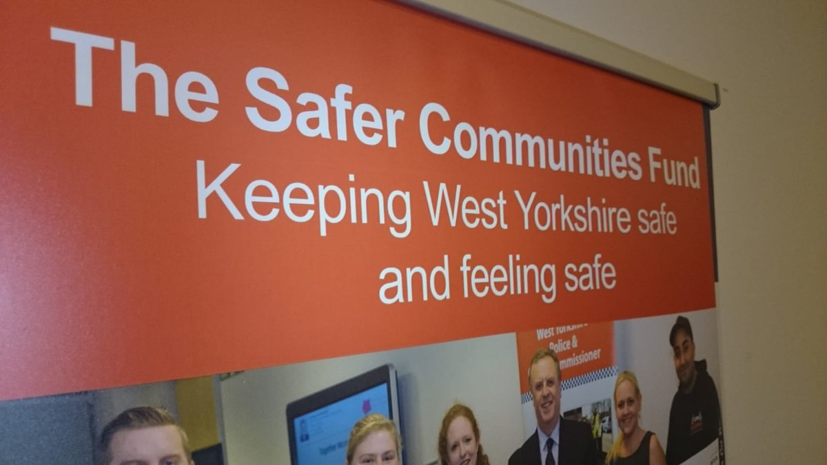Looking forward to working alongside @WestYorksPolice as a result of the @WestYorksOPCC Safer Communities Fund Awards  #youthvoice #collaboration #makingitreal #knifecrime #nowletsgettowork