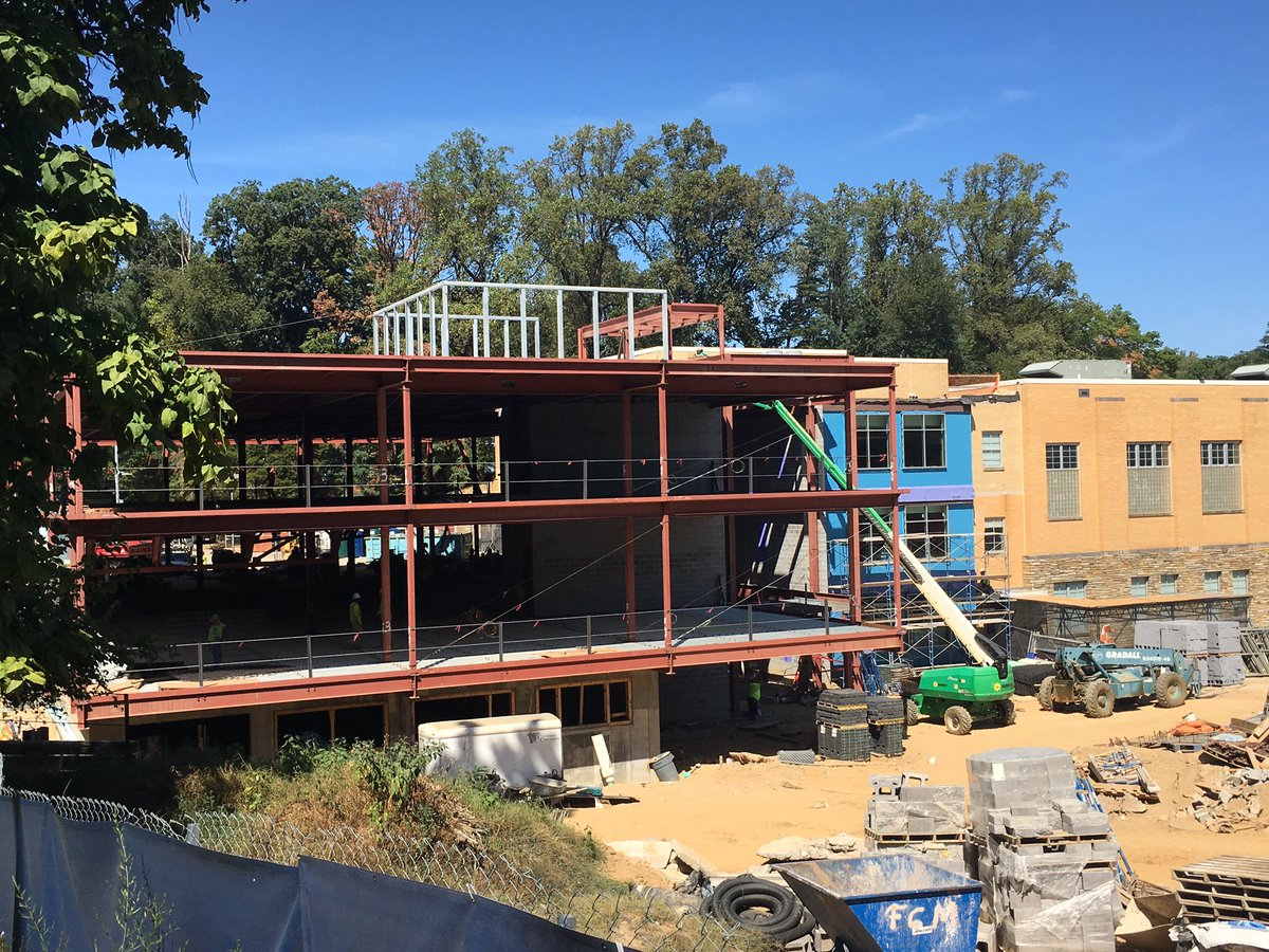 Structural steel and metal deck nearly complete for <a target='_blank' href='http://twitter.com/DHMiddleAPS'>@DHMiddleAPS</a> addition! Next up concrete slabs and exterior walls!!    <a target='_blank' href='http://twitter.com/dhms_ptsa'>@dhms_ptsa</a> <a target='_blank' href='http://twitter.com/EllenSmithAPS'>@EllenSmithAPS</a> <a target='_blank' href='http://search.twitter.com/search?q=StratfordProject'><a target='_blank' href='https://twitter.com/hashtag/StratfordProject?src=hash'>#StratfordProject</a></a> <a target='_blank' href='https://t.co/w8WyESCU8w'>https://t.co/w8WyESCU8w</a>