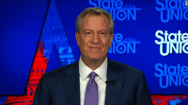 """New York Mayor Bill de Blasio announces that he is ending his 2020 presidential campaign, saying """"it's clearly not my time"""" https://cnn.it/2m4zZ7g"""