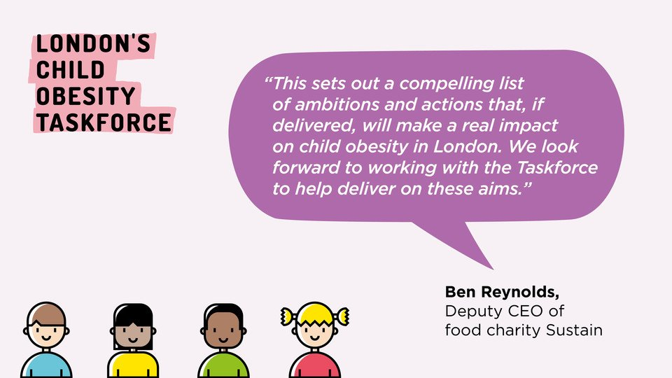 Londons #ChildObesity Taskforce just published its call-to-action. Heres my blog on why & how we did it london.gov.uk/city-hall-blog…… & heres a view on it from @UKSustain 🙏