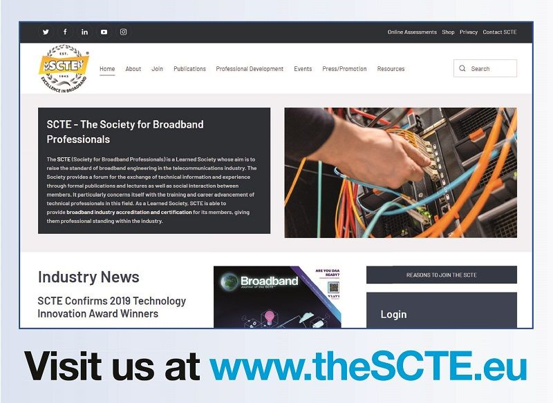 SCTE(est.1945) Society for Broadband Professionals