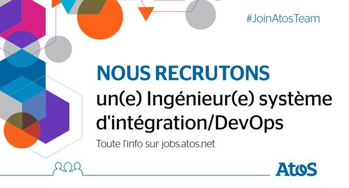 [#Job] Concevoir, déployer, exploiter et optimiser les infrastructures dans un contexte #DevOps...