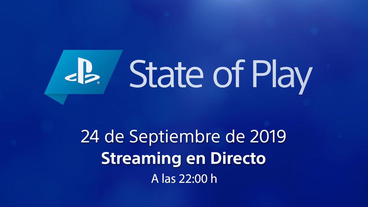 ¡Estrenamos canal EN TWITCH durante el nuevo #StateOfPlay! Únete a nuestro directo el 24/09 a las 22.00h y conoce las novedades sobre tus juegos favoritos con comentarios en español. ¿Te apuntas?