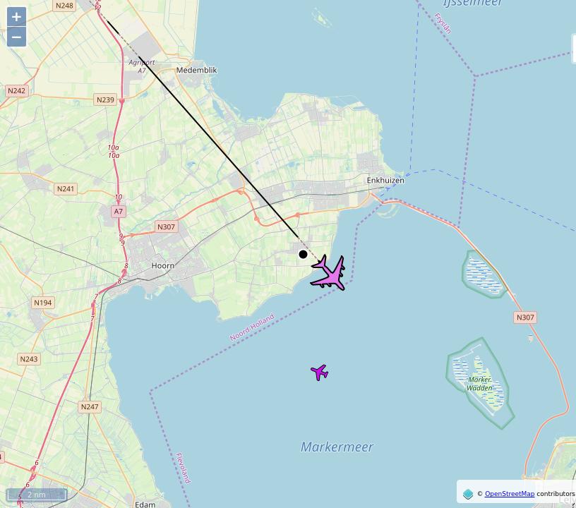 #DLH455 (A388): #SFO (San Francisco, CA) to #FRA (Frankfurt am Main). 0.6 mi away @ 39000 ft and heading SE @ 502.0kts / time 09:49:26.#LufthansaCargo #WayTheHeckUpThere #FlyingFast #Venhuizen #RaspberryPi